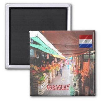 PY -パラグアイ-市場 マグネット
