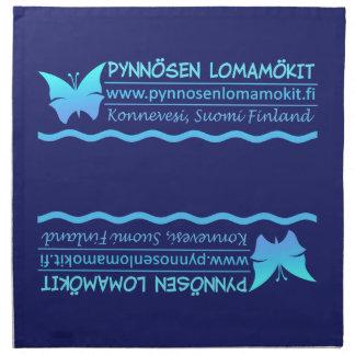 Pynnösen Lomamökitのカスタムな布のナプキン ナプキンクロス