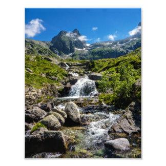 Pyrénéesの流れ フォトプリント
