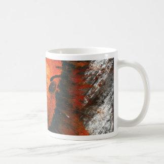 Pyrophobicの角状の道化師 コーヒーマグカップ