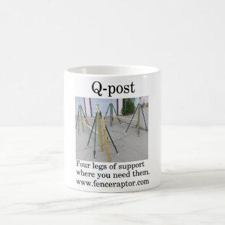 Qポストのコップかマグ コーヒーマグカップ
