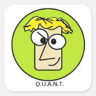 Q.U.A.N.T. ギークのステッカー スクエアシール