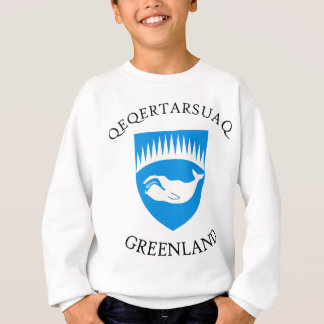 Qeqertarsuaqの紋章付き外衣 スウェットシャツ