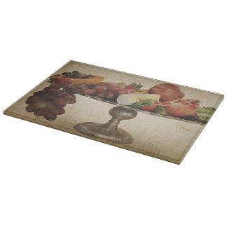 Qnitaのフルーツの表示ガラスまな板 カッティングボード