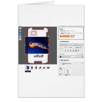 QPCのペーパープロダクト カード