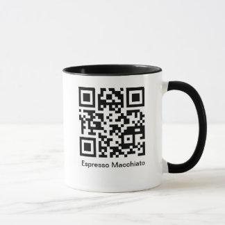 QRのエスプレッソMacchiato マグカップ