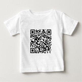 QRのバーコード: 私をスキャンするためのありがとう… ベビーTシャツ