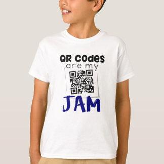 QRコードは私の込み合いです Tシャツ