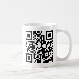 qrコードを発見して下さい コーヒーマグカップ