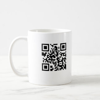 QRコードコーヒー・マグ コーヒーマグカップ