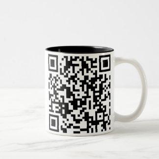 QRコードマグ ツートーンマグカップ