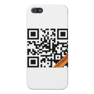 QRコードIphone 4ケース iPhone SE/5/5sケース