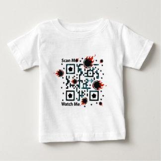 QRBlaster QRCodeプロダクト ベビーTシャツ