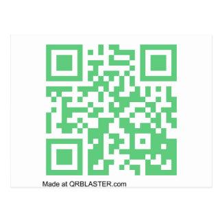 QRBlaster QRCodeプロダクト ポストカード