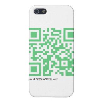 QRBlaster QRCodeプロダクト iPhone 5 カバー