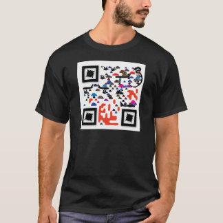 QRBlaster QRCodeプロダクト Tシャツ