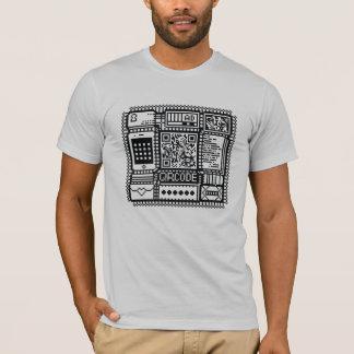 QRcodeのillustのTシャツ Tシャツ