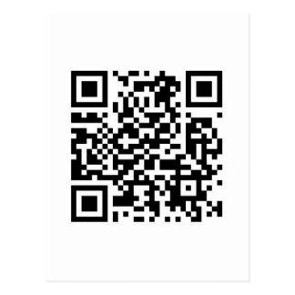 QRcodeはします世界にあなたののよりよい場所を…. ポストカード