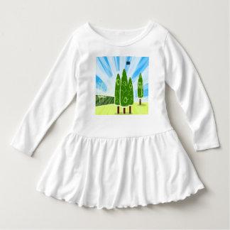 Qrollyロールbabygirlの衣服 ドレス