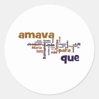 Quadrilha João Amavaマリア ラウンドシール