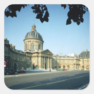 Quaiからのフランス学士院の眺め スクエアシール