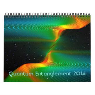 Quantumのもつれ2014年 カレンダー