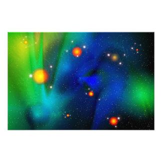 Quantumの泡の写真のプリント フォトプリント