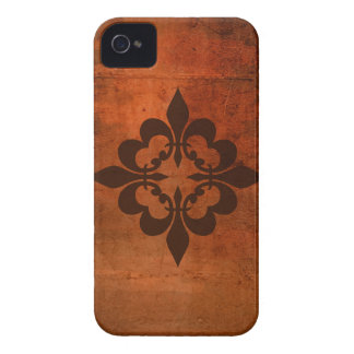 Quatreの(紋章の)フラ・ダ・リ Case-Mate iPhone 4 ケース