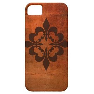 Quatreの(紋章の)フラ・ダ・リ iPhone SE/5/5s ケース