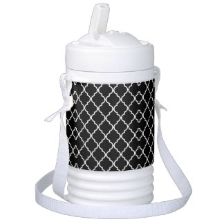 Quatrefoil Pattern Igloo Beverage Cooler ドリンククーラー