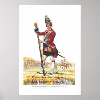 Queen、Private、Grenadier Companyの兵士 ポスター