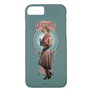Queenie Goldsteinのアールデコのパネル iPhone 7ケース