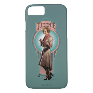 Queenie Goldsteinのアールデコのパネル iPhone 8/7ケース