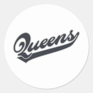 *Queens ラウンドシール