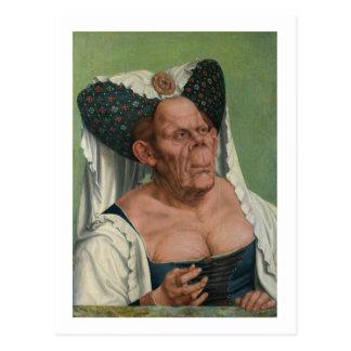 Quentin Massys -異様な老女1515年 ポストカード