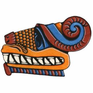 Quetzalcoatlのフォトスカルプチャー 写真彫刻マグネット
