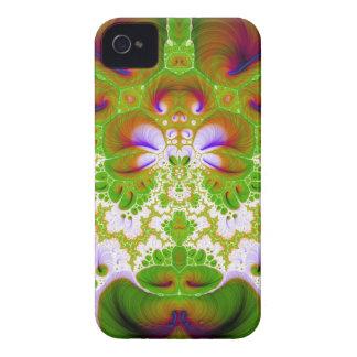 Quetzalcoatlの花のV8のiphone 4ケース Case-Mate iPhone 4 ケース