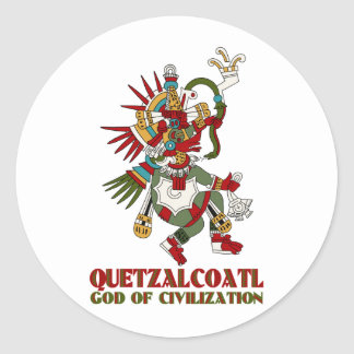 Quetzalcoatl ラウンドシール