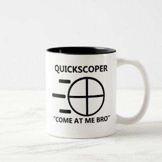 Quickscoperの表現のマグ ツートーンマグカップ