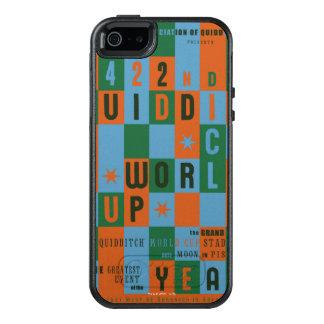 QUIDDITCH™のワールドカップのチェッカーボードポスター オッターボックスiPhone SE/5/5s ケース