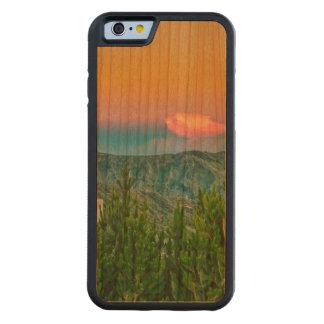 Quilotoaの町、Latacunga、エクアドル CarvedチェリーiPhone 6バンパーケース
