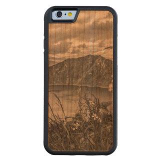 Quilotoa湖Latacungaエクアドル CarvedチェリーiPhone 6バンパーケース