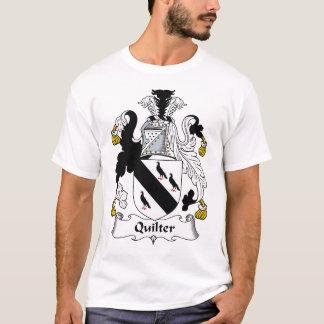 Quilterの家紋 Tシャツ