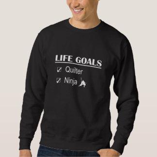 Quilterの忍者の生命ゴール スウェットシャツ