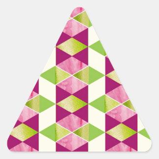 Quiltyの喜び 三角形シール