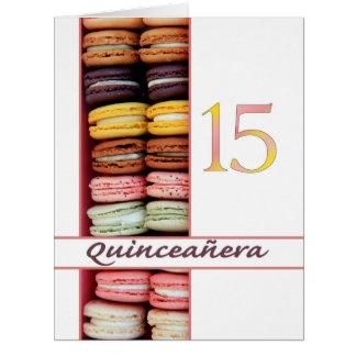 Quinceañeraの招待状 カード