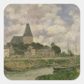 Quittebeuf 1893年(キャンバスの油) スクエアシール