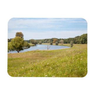 Quitzoebelの近くの川Havel マグネット