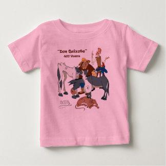 @QUIXOTEdotTV 400年のドン・キホーテ ベビーTシャツ