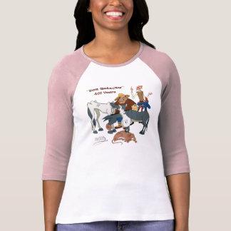 @QUIXOTEdotTV 400年のドン・キホーテ Tシャツ